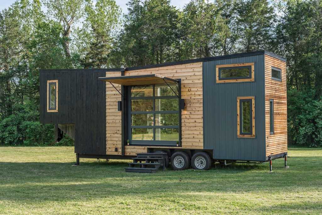 trailers for tiny houses. Dream Tiny House Built For A Young Family Trailers Houses