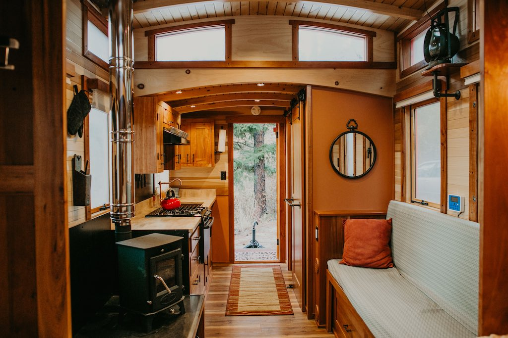 Tiny House Swoon - Inspiration For Your Tiny House Imagination on caboose home plans, bobber caboose model plans, caboose interior plans, caboose construction plans, caboose diy plans, caboose cabin plans, caboose shed plans,