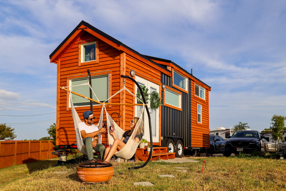 Tiny House with Built-in sauna